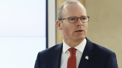 Simon Coveney said 'we will ensure that we extend that right to Northern Ireland'