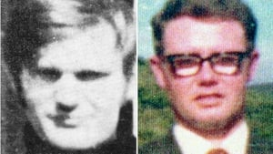 Soldier F had been charged with murdering James Wray (left) and William McKinney (right) in Derry in January 1972