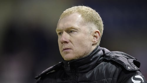 """Paul Scholes: """"It was a genuine mistake and was not done with any deliberate intention to flout the rules."""""""