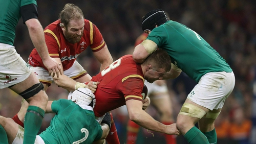 Seán O'Brien will be a key figure in the Irish backrow against Wales