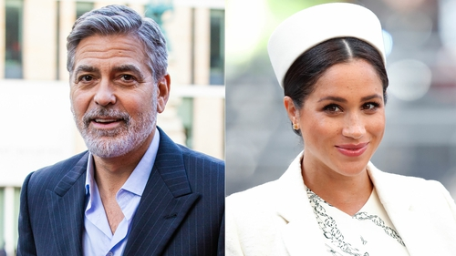 "George Clooney says Meghan Markle is ""a really kind, smart and intelligent young woman"""