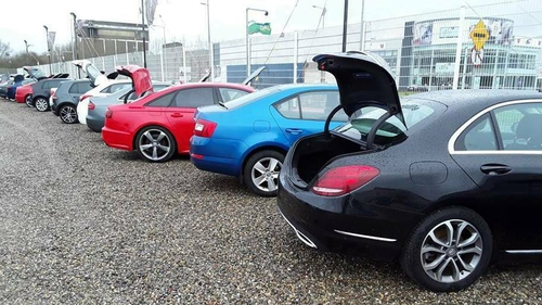 The vehicles were seized from a Limerick motor dealer last March