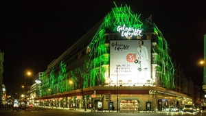 Galleries Lafayette in Paris (Photo courtesy of Tourism Ireland)