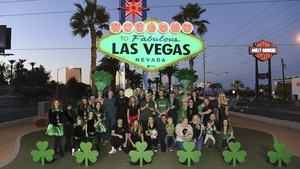 The 'Welcome to Fabulous Las Vegas' sign (Photo courtesy of Tourism Ireland)