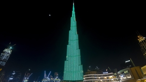 The Burj Khalifa, Dubai (Photo courtesy of Tourism Ireland)