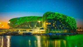Yas Hotel, Abu Dhabi, UAE (Photo courtesy of Tourism Ireland)