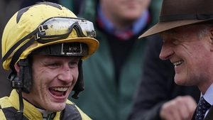 Paul Townend and trainer Willie Mullins