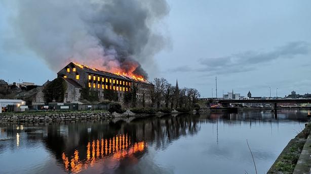 Drogheda fire