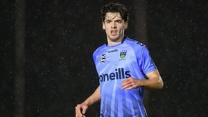 Richie Farrell rattled in a brace for UCD