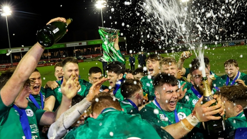 Ireland get the party started after their Grand Slam heroics