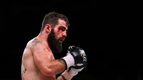 Jono Carroll tasted defeat for the first time in his professional career