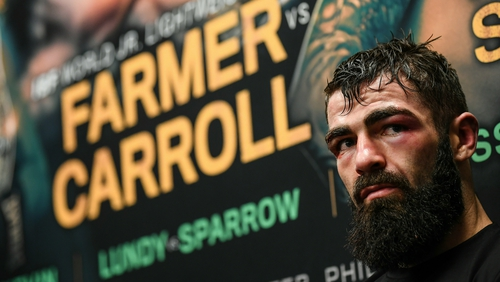 Jono Carroll lost a unanimous points decision to the classy IBF super-featherweight world champion Tevin Farmer