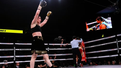 Katie Taylor's victory in Philadelphia paving the way for a winner-takes-all fight with Delfine Persoon in June