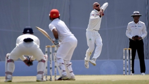 James Cameron-Dow bowls to Afghanistan in Day 2 in the test