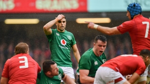 Conor Murray was one of the many players in green who struggled against Wales