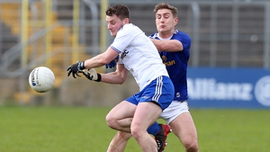 Jack McCarron was dismissed while Monagahan manager Malachy O'Rourke was sent to the stand during the tie