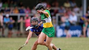 Arlene Watkins was one of the stars for Offaly