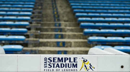Semple Stadium will host the first two senior hurling championship fixtures