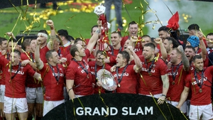 Wales celebrate a third grand slam under Warren Gatland