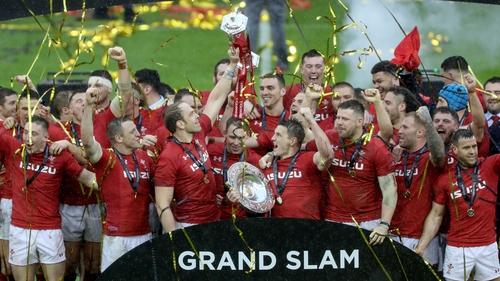 Wales celebrate a third grand slam under Warren Gatland