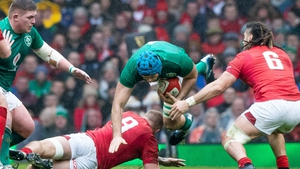 Tadhg Beirne won his fifth cap and first in the Six Nations