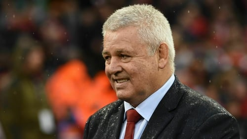 Gatland to be Lions coach for third time
