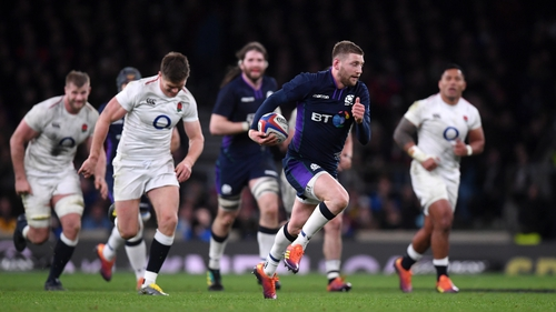 Finn Russell runs clear to level the game at 31-31