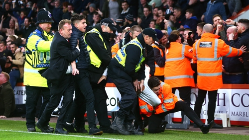 Bournemouth v Newcastle pitch incursion: Five fans charged