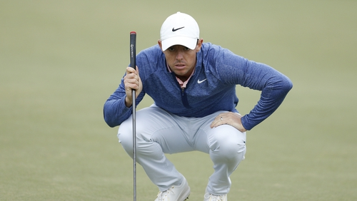 McIlroy signed for a 70 after a slow start saw him drop shots on the opening two holes