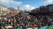 Six One News (Web): Hundreds of thousands attend St Patrick's Day parades