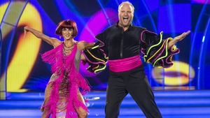 Fred and Giulia depart Dancing with the Stars