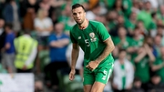 Shane Duffy was nursing an ankle injury ahead of the game