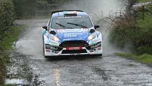 Craig Breen and his co-driver Paul Nagle won the West Cork International Rally