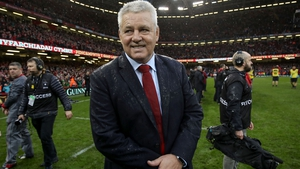 Warren Gatland led Wales to the Grand Slam