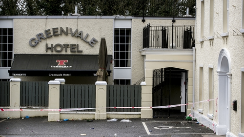 Three teenagers died in the queue for a disco at the Greenvale Hotel in Cookstown