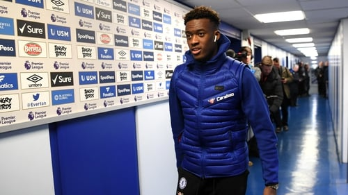 Callum Hudson-Odoi called up to England senior squad for first time