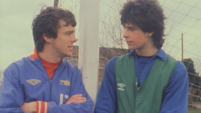 Dave O'Leary and Niall Quinn