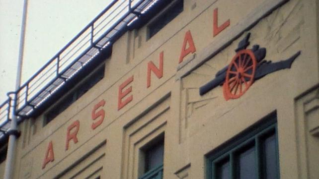 Arsenal Football Ground at Highbury (1984)