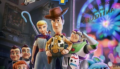 Toy Story 4 includes a new character voiced by Keanu Reeves