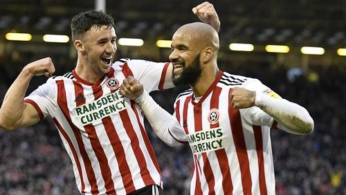 Three Irish goals gave Sheffield United the win at Hull