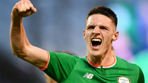 Declan Rice 'bursting with pride' after England call-up