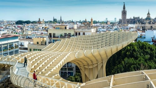 The Metropol Parasol is the world's largest wooden structure.