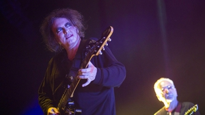 The Cure front man Robert Smith