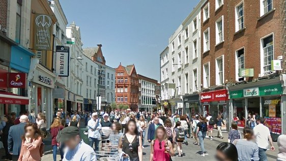Google Street View Grafton Street