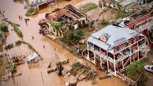 Devastation in Mozambique after the cyclone