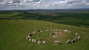 "Loughcrew in north Co Meath, where ""the unique rock art of the back stone is lit magnificently on the mornings at Equinox"""