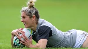 Alison Miller scored 23 tries in 47 caps for Ireland