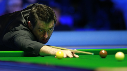 Ronnie O'Sullivan will be back in action at 2.30pm on Thursday