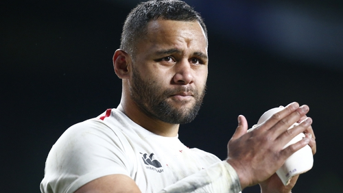 Billy Vunipola of England and Saracens