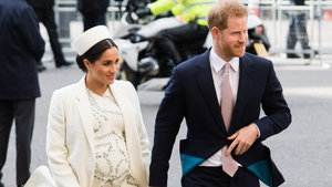 Prince Harry Duke of Sussex and Meghan Duchess of Sussex